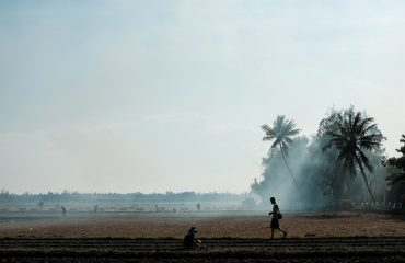 Landscape Photography - Clearing Rice Fields