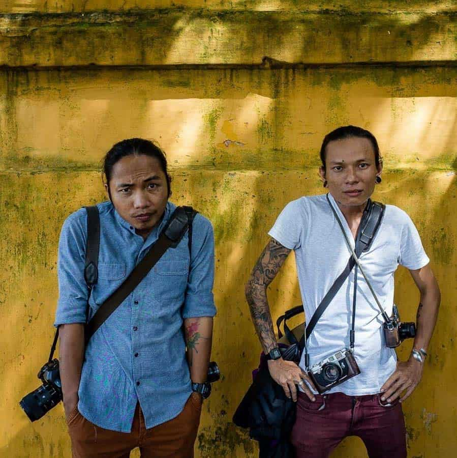 The leaders of Hoi An street photography workshop
