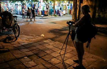 Long exposure photography in Hoi an