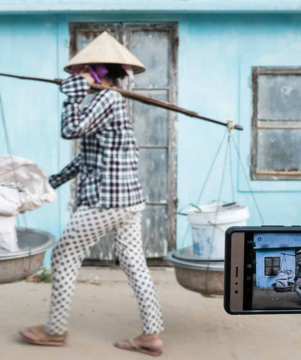 smart phone photography workshop with hoi an photo tour