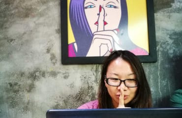 Student Shhh In Hoi An