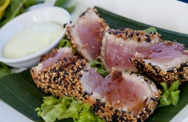 Tuna tartar in hoi an