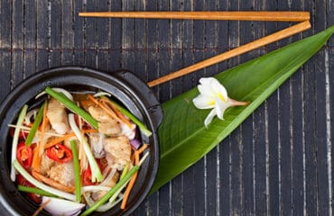 Food styling in hoi an