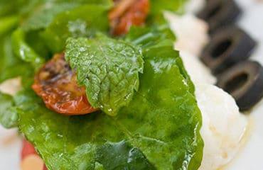 Tomato mozzarella salad in hoi an