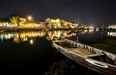 Hoi An Night Photography - Boat On River