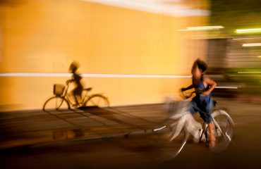 Hoi An Night Photography - Child Cycling