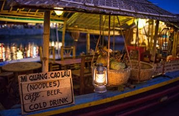 Hoi An Night Photography - Noodles Cold Drink