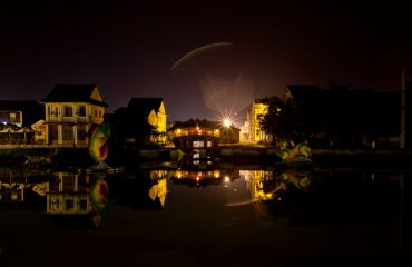 Hoi An Night Photography Japanese Covered Bridge